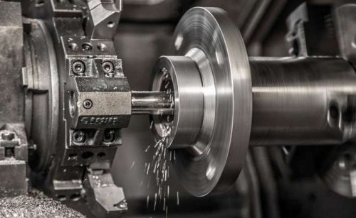 Industry lathe machine work